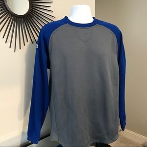 Adidas Climawarm Blue/Gray Pullover M
